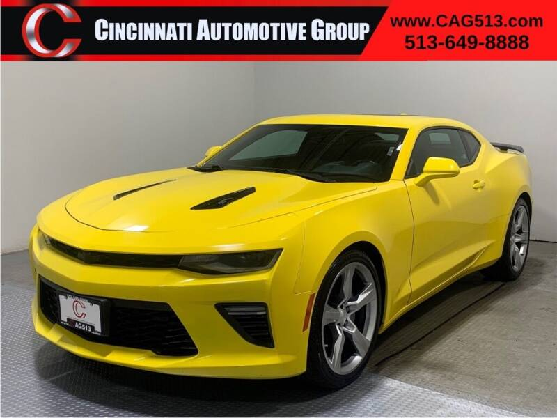 2018 Chevrolet Camaro for sale at Cincinnati Automotive Group in Lebanon OH