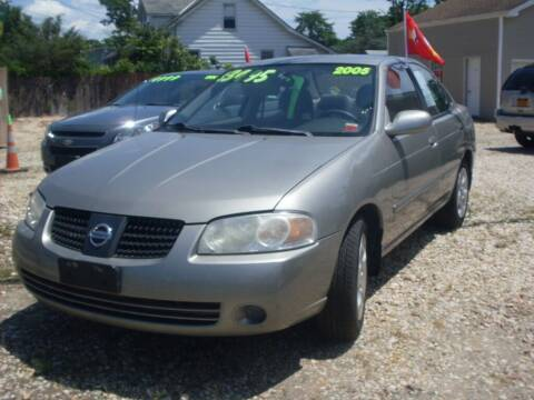 2005 Nissan Sentra for sale at Flag Motors in Islip Terrace NY