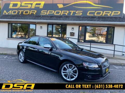 2010 Audi S4 for sale at DSA Motor Sports Corp in Commack NY