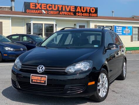 2012 Volkswagen Jetta for sale at Executive Auto in Winchester VA