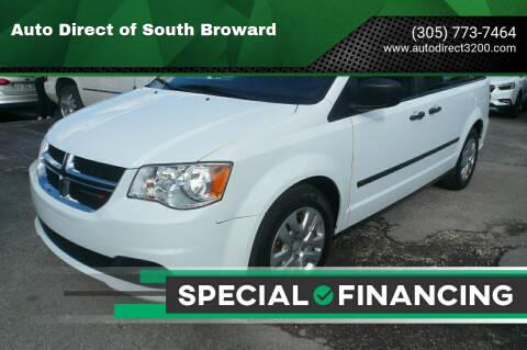 2016 Dodge Grand Caravan for sale at Auto Direct of South Broward in Miramar FL