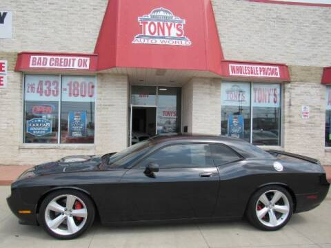 2009 Dodge Challenger for sale at Tony's Auto World in Cleveland OH