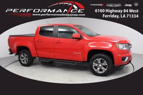 2017 Chevrolet Colorado for sale at Performance Dodge Chrysler Jeep in Ferriday LA