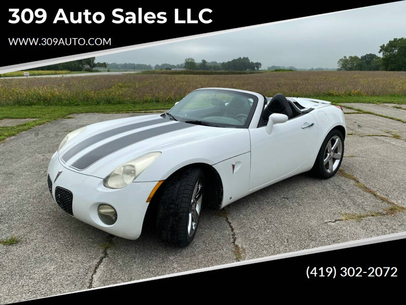 2007 Pontiac Solstice for sale at 309 Auto Sales LLC in Harrod OH