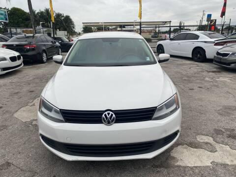2012 Volkswagen Jetta for sale at America Auto Wholesale Inc in Miami FL