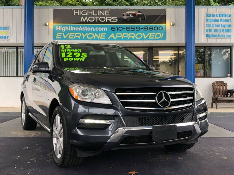 2012 Mercedes-Benz M-Class for sale at Highline Motors in Aston PA