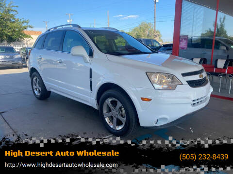 2012 Chevrolet Captiva Sport for sale at High Desert Auto Wholesale in Albuquerque NM