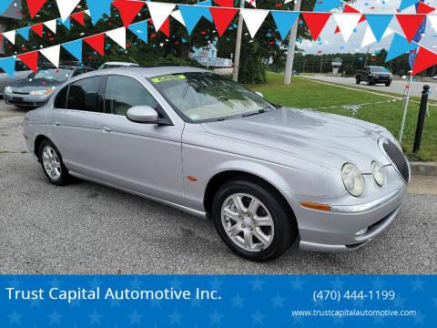 2004 Jaguar S-Type for sale at Trust Capital Automotive Inc. in Covington GA