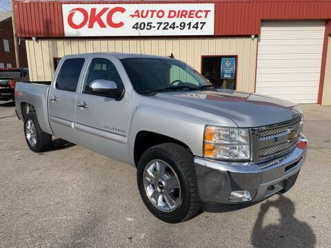 2013 Chevrolet Silverado 1500 for sale at OKC Auto Direct in Oklahoma City OK