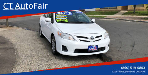 2011 Toyota Corolla for sale at CT AutoFair in West Hartford CT
