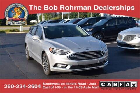 2017 Ford Fusion Hybrid for sale at BOB ROHRMAN FORT WAYNE TOYOTA in Fort Wayne IN