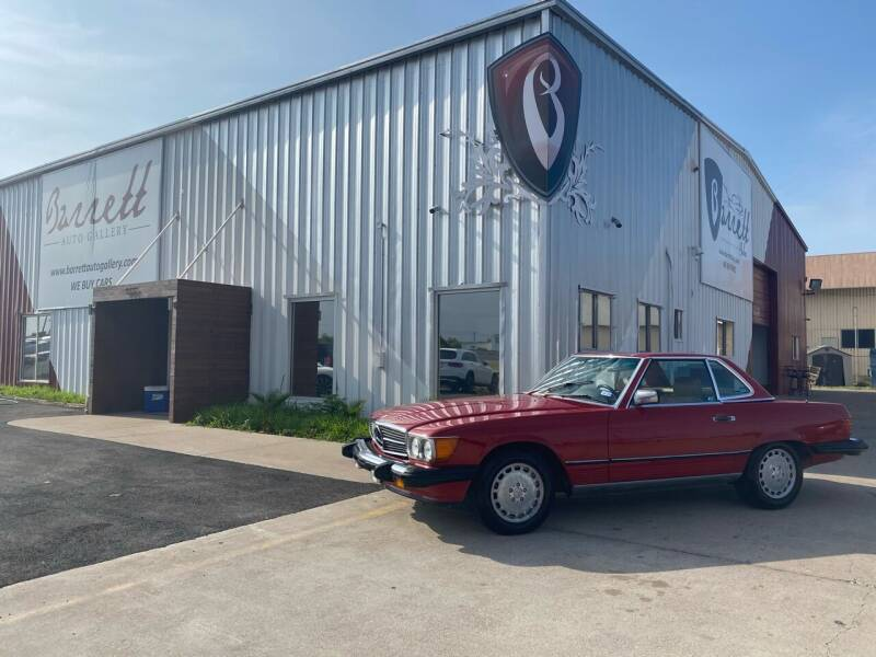 1987 Mercedes-Benz 560-Class for sale at Barrett Auto Gallery in San Juan TX