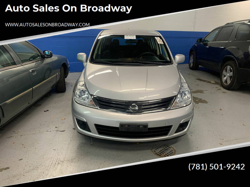 2011 Nissan Versa for sale at Auto Sales on Broadway in Norwood MA
