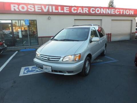 2003 Toyota Sienna for sale at ROSEVILLE CAR CONNECTION in Roseville CA