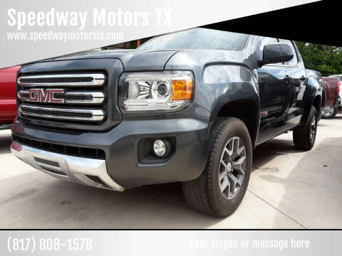 2016 GMC Canyon for sale at Speedway Motors TX in Fort Worth TX