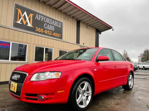 2007 Audi A4 for sale at M & A Affordable Cars in Vancouver WA