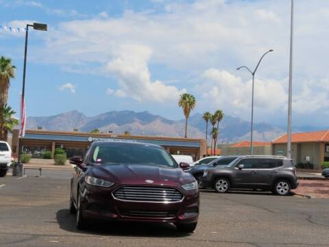 2013 Ford Fusion for sale at Jay Auto Sales in Tucson AZ