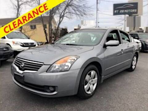 2008 Nissan Altima for sale at RT28 Motors in North Reading MA
