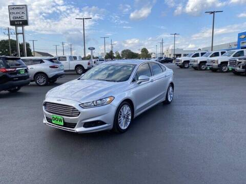 2016 Ford Fusion for sale at DOW AUTOPLEX in Mineola TX