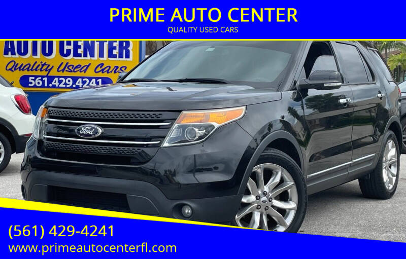2013 Ford Explorer for sale at PRIME AUTO CENTER in Palm Springs FL