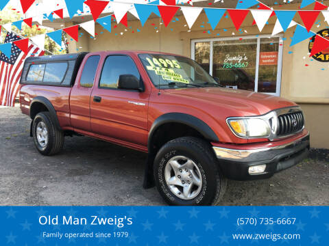 2003 Toyota Tacoma for sale at Old Man Zweig's in Plymouth PA