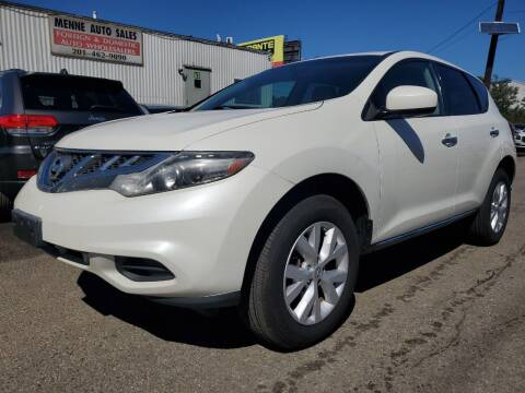 2012 Nissan Murano for sale at MENNE AUTO SALES LLC in Hasbrouck Heights NJ