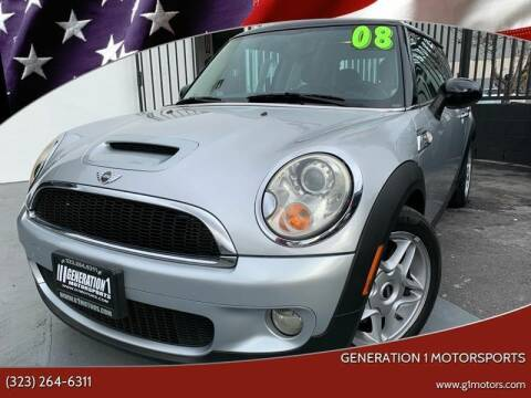 2008 MINI Cooper for sale at GENERATION 1 MOTORSPORTS #1 in Los Angeles CA