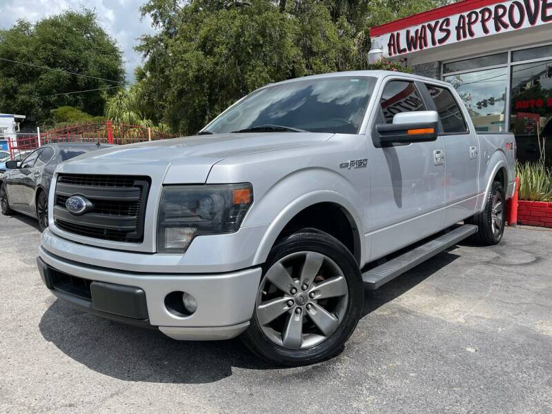 2014 Ford F-150 for sale at Always Approved Autos in Tampa FL