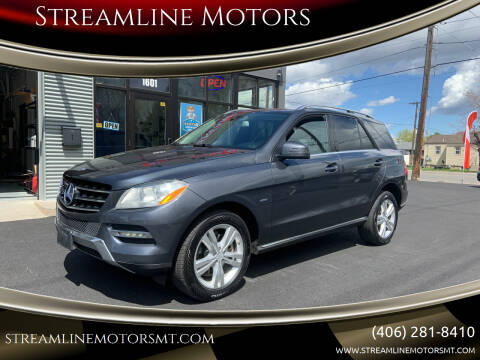 2012 Mercedes-Benz M-Class for sale at Streamline Motors in Billings MT