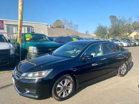 2014 Honda Accord for sale at Black Diamond Auto Sales Inc. in Rancho Cordova CA