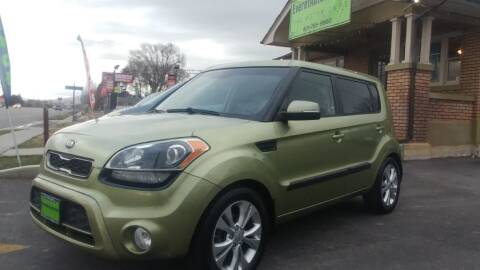 2013 Kia Soul for sale at Everett Automotive Group in Pleasant Grove UT