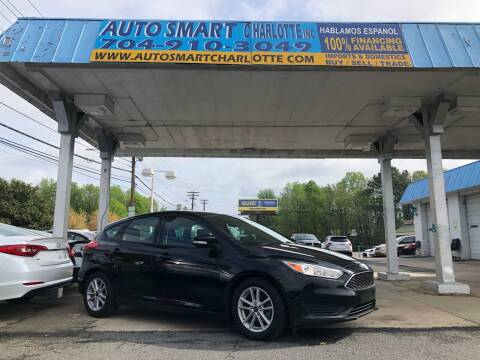 2017 Ford Focus for sale at Auto Smart Charlotte in Charlotte NC