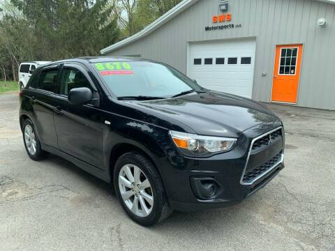 2014 Mitsubishi Outlander Sport for sale at SMS Motorsports LLC in Cortland NY
