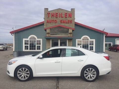 2013 Chevrolet Malibu for sale at THEILEN AUTO SALES in Clear Lake IA