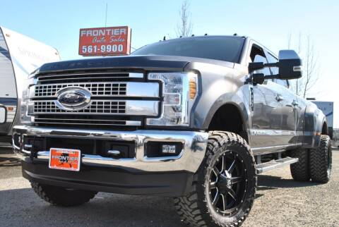 2019 Ford F-350 Super Duty for sale at Frontier Auto & RV Sales in Anchorage AK