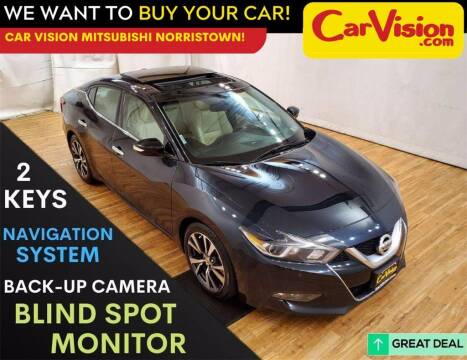 2017 Nissan Maxima for sale at Car Vision Mitsubishi Norristown in Trooper PA