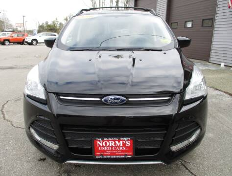 2016 Ford Escape for sale at NORM'S USED CARS INC - Trucks By Norm's in Wiscasset ME