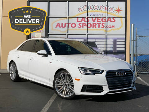 2017 Audi A4 for sale at Las Vegas Auto Sports in Las Vegas NV