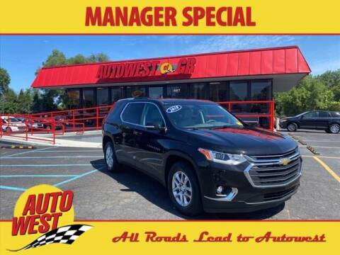 2018 Chevrolet Traverse for sale at Autowest of GR in Grand Rapids MI