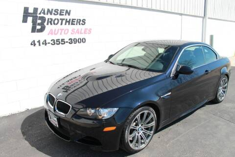 2012 BMW M3 for sale at HANSEN BROTHERS AUTO SALES in Milwaukee WI