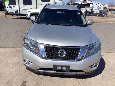 2013 Nissan Pathfinder for sale at GPS Motors in Denver CO