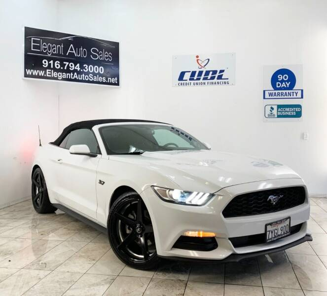 2015 Ford Mustang for sale at Elegant Auto Sales in Rancho Cordova CA