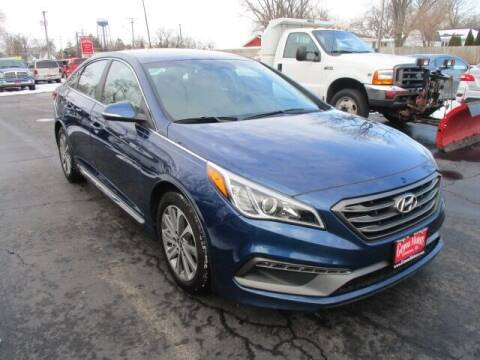 2016 Hyundai Sonata for sale at GENOA MOTORS INC in Genoa IL