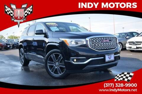 2018 GMC Acadia for sale at Indy Motors Inc in Indianapolis IN