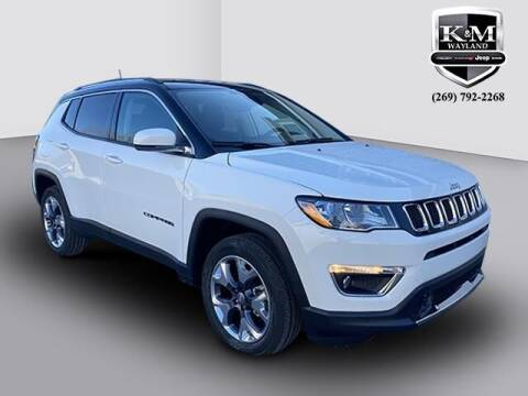 2021 Jeep Compass for sale at K&M Wayland Chrysler  Dodge Jeep Ram in Wayland MI