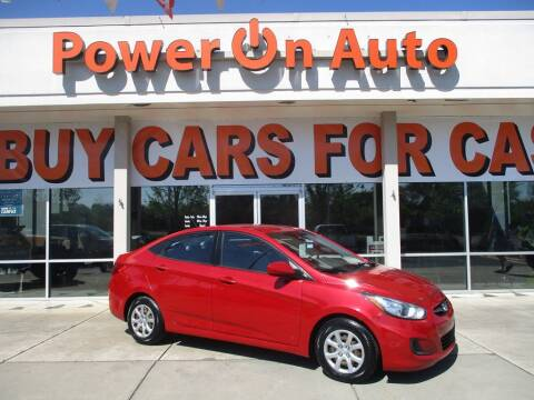 2013 Hyundai Accent for sale at Power On Auto LLC in Monroe NC