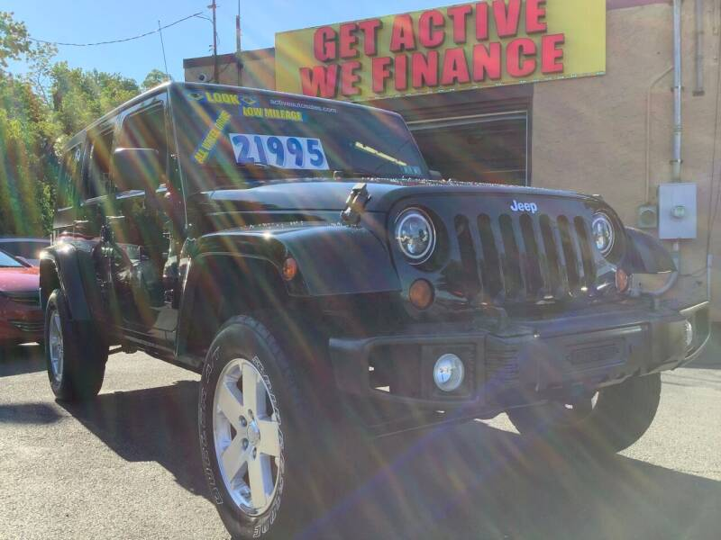 2009 Jeep Wrangler Unlimited for sale at Active Auto Sales Inc in Philadelphia PA