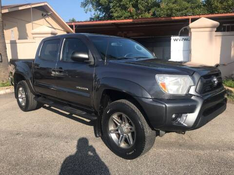 2013 Toyota Tacoma for sale at Auto A to Z / General McMullen in San Antonio TX