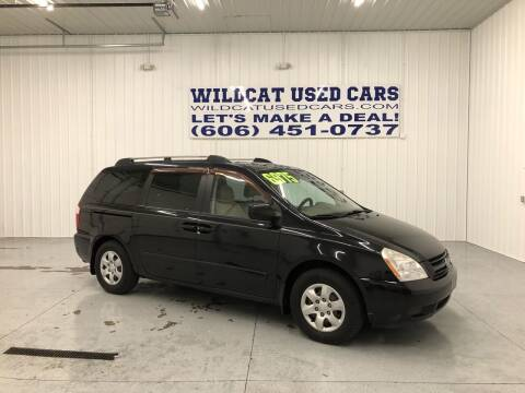 2006 Kia Sedona for sale at Wildcat Used Cars in Somerset KY