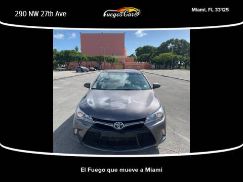 2017 Toyota Camry for sale at Fuego's Cars in Miami FL
